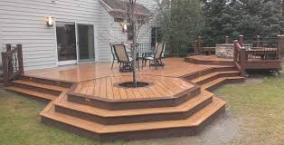 fire pit safe for wood deck luxury gas fire pit on deck deck design and ideas