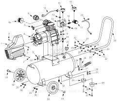 C bell hausfeld hx4001 parts diagram for air pressor parts rh jackssmallengines air pressor diagram 2007