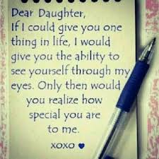 My Beautiful Daughter Quote
