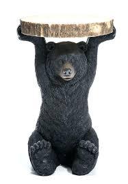 black bear coffee table bear coffee table creative of bear coffee table brown bear black bear