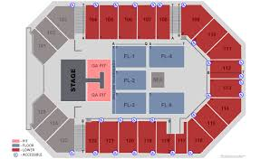 The Arena Corbin Ky Seating Chart Find Tickets For Kane Brown Live Forever Tour The Arena At