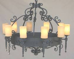 featured photo of wrought iron chandeliers mexican