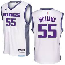 Adidas Men's Jersey Jason Swingman Sacramento White Kings Williams - Home