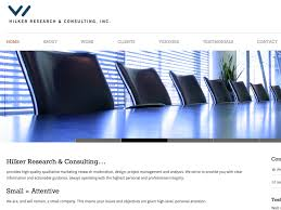marketing research firms in org hilker research consulting