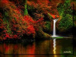 GIF cascade waterfall wasserfall ...