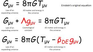 einstein s equations of general relativity gμν on the left side of the equation is the quantity