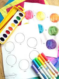 You can then use your saved color themes, in adobe products (photoshop, illustrator, fresco etc.), via adobe color theme panel or cc libraries. Color Wheel Printables For Kids 100 Directions