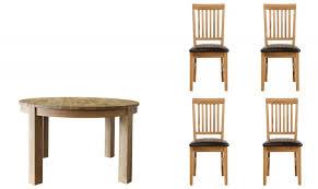 royal oak table and 4 chairs