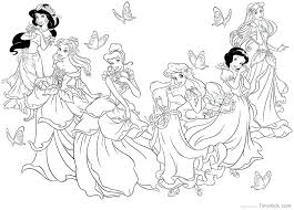 all princess coloring pages free coloring pages disney princess belle