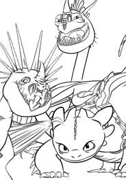 Small Picture How To Train A Dragon Coloring Pages Miakenasnet