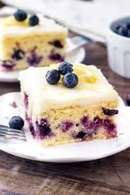 Lemon Blueberry Cake Just So Tasty