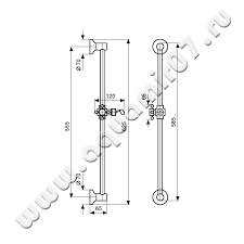 <b>Душевой гарнитур Emmevi</b> Deco classic бронза (BR <b>C02541</b> ...