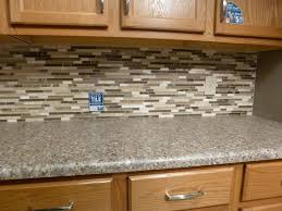 Kitchen Stick On Backsplash Self Adhesive Backsplash Tiles