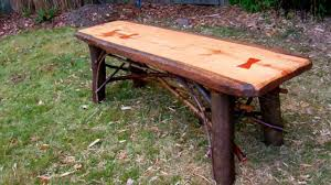making rustic furniture. how to make a rustic plank table by jim the furniture artist part 49 youtube making