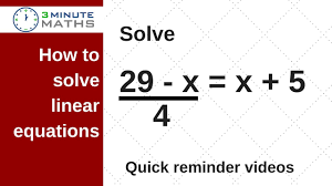 linear equations find the value of x gcse maths level 7 question