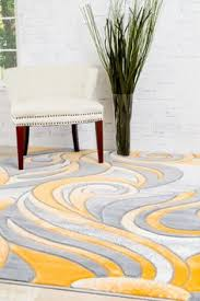 2240 Mango Carved Contemporary Area Rugs