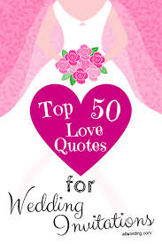 Top 40 Love Quotes For Wedding Invitations AllWording Cool Love Quotes Wedding Invitation
