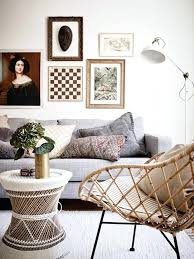 Mid Century Rattan Chair Decorating With Lounge