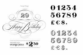 Cool Number Fonts 30 Best Number Fonts For Displaying Numbers Design Shack