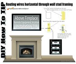 install tv cables in wall hide install cable tv wall hiding tv cables behind brick