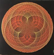 String Art Pattern Generator Best String Art DIY Ideas Tutorials Free Patterns And Templates To