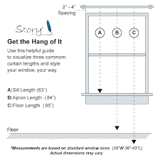 curtain sizes standard shower curtain sizes