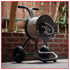 eley rapid reel two wheel garden hose cart the socks
