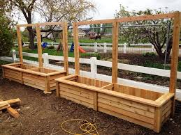 Small Picture How To Build A Cedar Planter Box Yard Pinterest Cedar