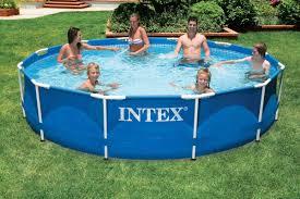 Бассейн каркасный <b>INTEX Metal Frame 366х76</b> см [28210] купить ...