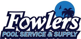 pool service logo. Fowlers Pool Service \u0026 Supply Logo T