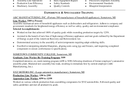 100 Trade Resume Examples Top Executive Resume Writing