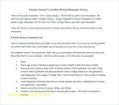 Blank Obituary Template 7 Free Word Excel Format Download Throughout