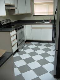 Checkerboard Kitchen Floor Miraculous Small Modern Black And White Kitchen Floor Small