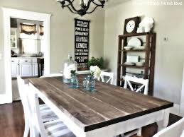 rustic dining table diy. Full Size Of Home Design:impressive Distressed Rustic Dining Table Furniture Diy Custom Farmhouse With