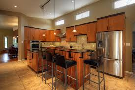lighting above cabinets. Small Lighting Above Tiny L Shaped Kitchen Island Closed Metal Barstools Foundation On Nice Floortile And Cabinets