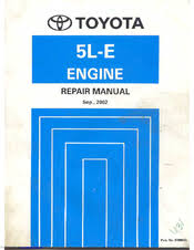 Toyota 5L-E Manuals