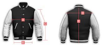 Delong Jacket Size Chart Jacketshop
