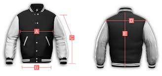 jacket measurements in inches