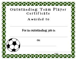 Award Certificate Templates Free Soccer Award Certificate Templates Free Cumed Org