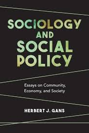 sociology and social policy essays on community economy and  sociology and social policy