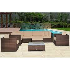 outdoor sectional costco. Atlantic 9-piece Modular Patio Sectional Collection L From Costco.com. Outdoor Costco