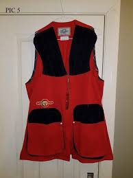 Castellani Shooting Vest Size Chart New Castellani Skeet Vest Ambidextrous Uk Size 48 With Tags