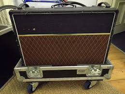 ac30. vox ac30 6/tb with flight case ac30