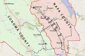 map of napa valley and sonoma wine country