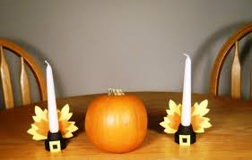 Diy Candle Holders Thanksgiving Centerpiece Diy Candle Holders The Green Life