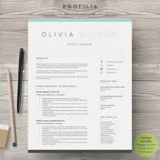 020 Resume Templates For Word Free Modern Print Creative Template