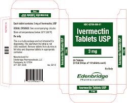 Ivermectin Tablets Usp 3mg Ivermectin