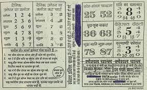 Kalyan Patrika Chart Satta Matka Book Stall Bazari Matka Charts Satta Matka Help