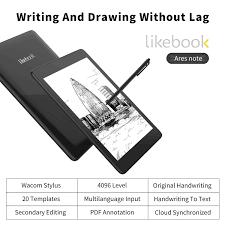 Likebook Ares - Máy đọc sách PDF, ghi chú, màn hình 7.8