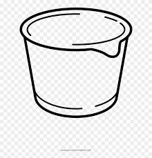 Use these images to quickly print coloring pages. Yogurt Cup Coloring Page Drawing Free Transparent Png Clipart Images Download